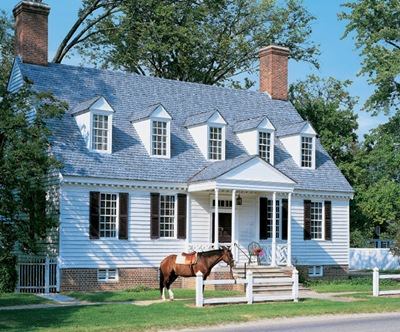 Historical american homes bluetramontana style for Early american house styles
