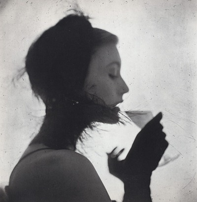 ng Penn, Girl Drinking (Mary Jane Russell), New York, 1949