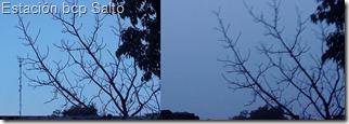 Antena en la niebla