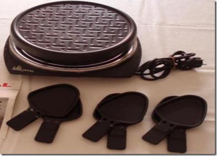 Aparelho de raclette