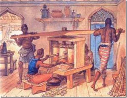 moenda dos engenhos século XVI