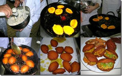 fritura do bolinho de acarajé