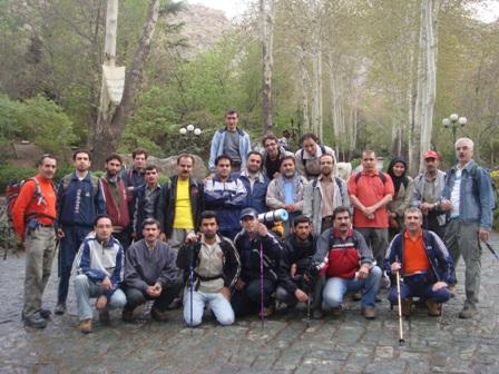 نشاط کوهستان - پارک جمشیدیه تهران - مبداء حرکت 880204
