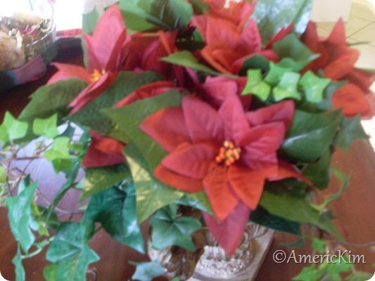 Christmas Silk Flower Arrangement-5