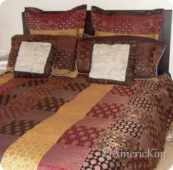 Master Bedding