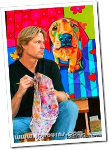 Ron e um de seus quadros
