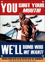We´ll bomb you