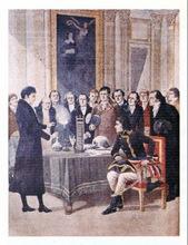 Volta Devant napoleon