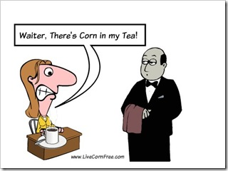 Corn in Tea