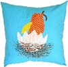 Bird Crossing pillow