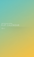Screenshot of Flip Calendar + Widget 2014