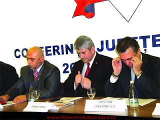 Gabriel Oprea, Cristian Diaconescu, Liviu Câmpanu