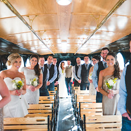 Trolley Party by Jess Anderson - Wedding Groups ( nx1, weddingphotography, weddingday, wedding, chicago, jessica anderson, ditchthedslr, mchenryphotography.com, weddingphotographer, imagelogger, photography )
