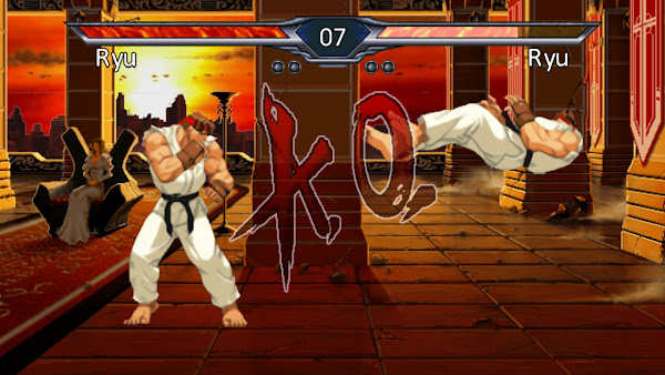 Ryu has defeated its doppelganger