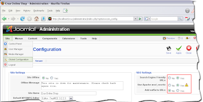 човеко-понятни адреси в Joomla!