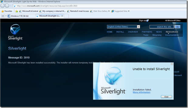 Silverlight - did it or didn't it