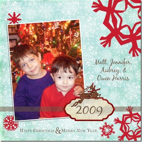 harris card 2009 2