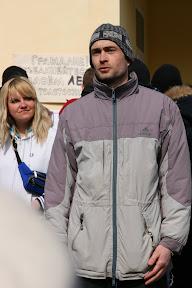 Митинг против вырубки леса (Пятихатки, 28.03.2010) Ныне - активист ЗФ