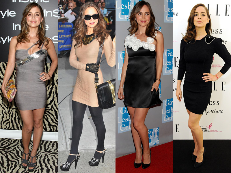 eliza dushku red carpet look