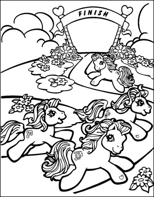 pequeño pony colorea-02