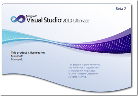 Vs.net 2010 splash screen