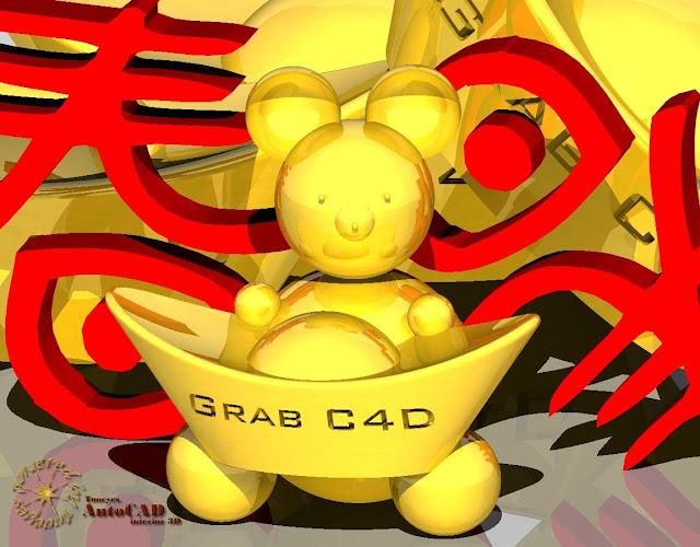 [展示]一些隨意作品(AutoCAD也是可以拿來亂畫的...) Mouse