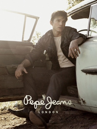 Ashton Kutcher by David Sims for Pepe Jeans F/W 2008