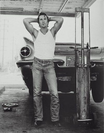 VGLMen.com | Herb Ritts | Richard Gere, San Bernardino 1978