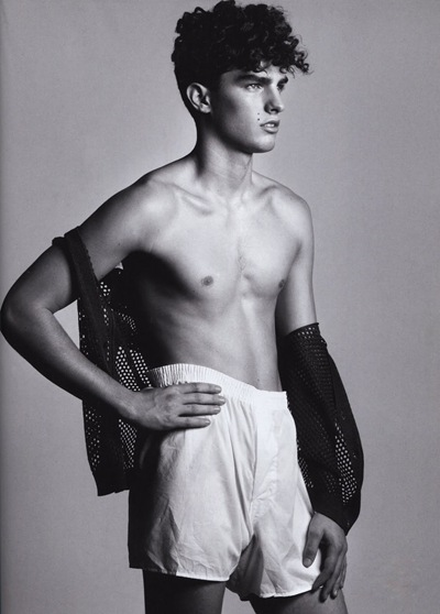 VGLMen.com | Paolo Anchisi by Terry Gates for L'Officiel Hommes Germany, March 2010