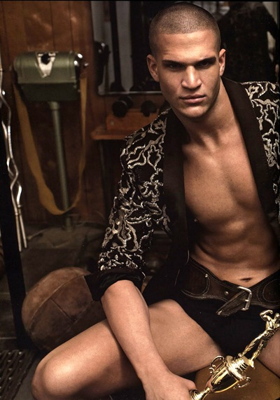 VGLMen.com | Michael Fulfree by Alex Cayley for GQ Style Germany, S/S 2010