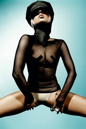 Lady Gaga by Ronnio Maifredi for FHM Germany April 2010
