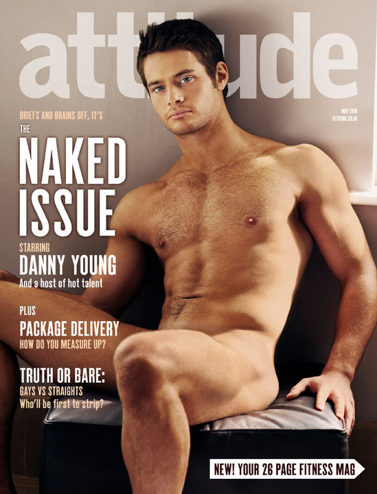 Yeah Uk Actor Hottie Danny Young Covers Attitude S Annual Naked