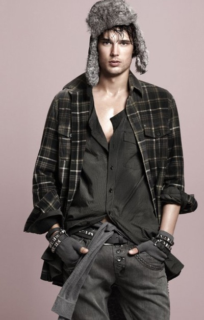 Danny Schwarz by David Sims for Colcci A/W 2010