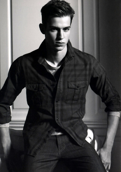 Julius Beckers by Lachlan Bailey for Burberry S/S 2010