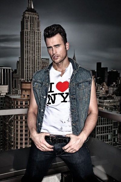 Cheyenne Jackson by Mike Ruiz for FAB, April