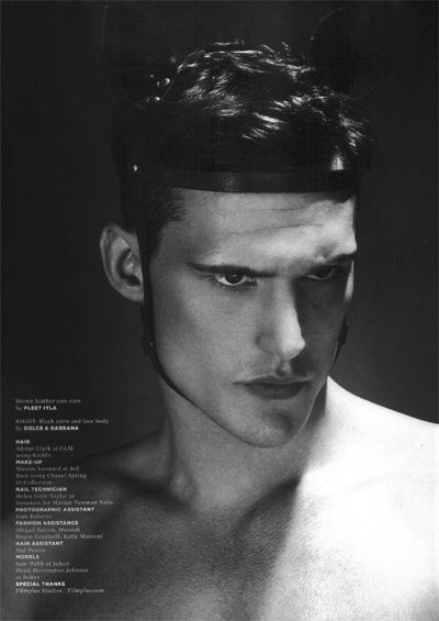 Sam Webb by Cuneyt Akeroglu for Wonderland 22