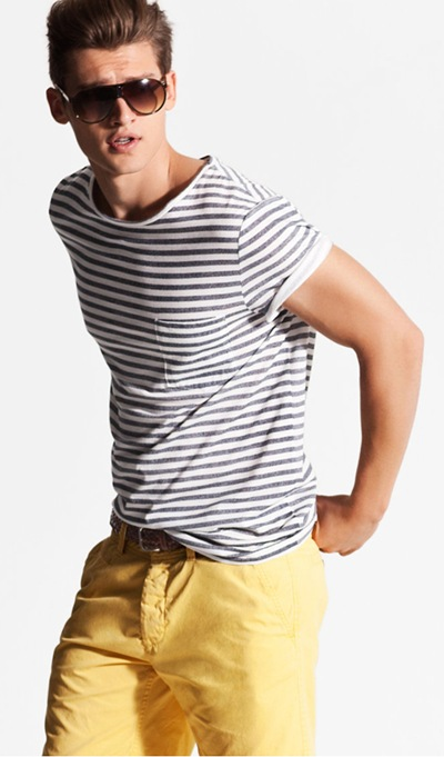 Vladimir Ivanov by Jimmy Backius for H&M, S/S 2011