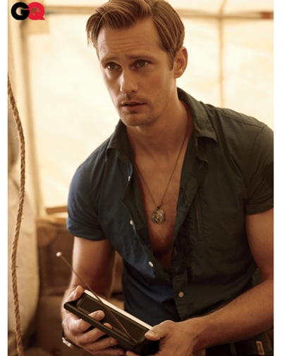Alexander Skarsgård by Carter Smith for GQ, June 2011