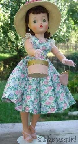 Madame Alexander Cissy doll 1950s