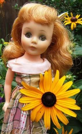 Toni doll American Character rare eye color 1950s