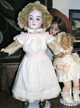 Antique bisque doll German Germany Beverly Effanbee Fleischaker & Baum F & B Anne Shirley composition