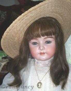 Antique bisque doll Simon & Halbig Heinrich Handwerck S & H