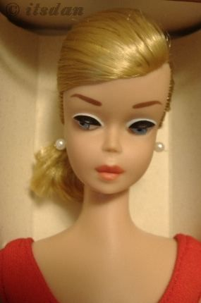 Mattel Barbie doll Swirl Ponytail PT Helenca swimsuit 1960s