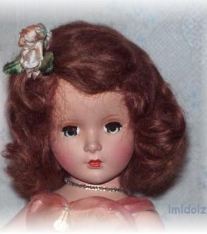 Madame Alexander Princess Margaret Rose Bridesmaid doll 1940s