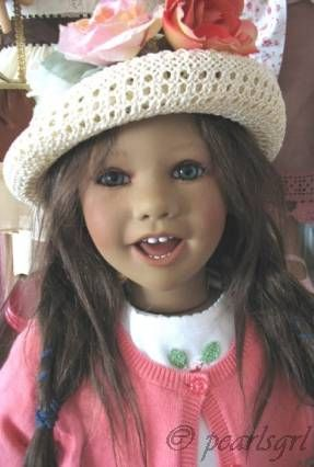 Annette Himstedt Linn doll 2004 Puppen Kinder Collection