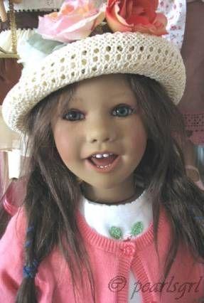 Annette Himstedt Linn doll 2004 Puppen Kinder Collection