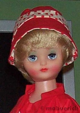 Rosebud teen fashion doll England English 1960s