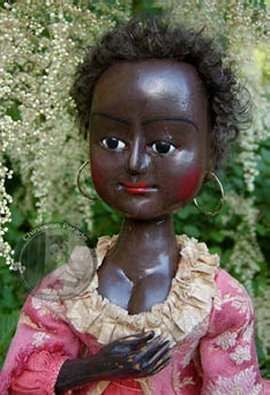 Queen Anne wooden doll reproduction by Chapman & Robins wood
