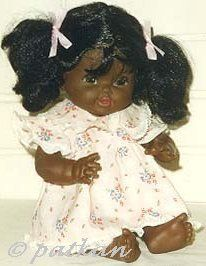 Shindana doll Baby Nancy black African-American 1970s