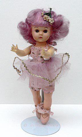 Twinkle Toes Lollipop doll Virga Dolls ballerina 8-inch 1950s